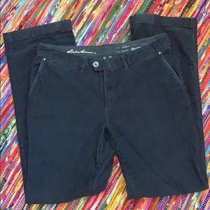 Eddie Bauer trousers cut corduroys